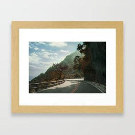 Provincial Highway 11 Framed Art Print