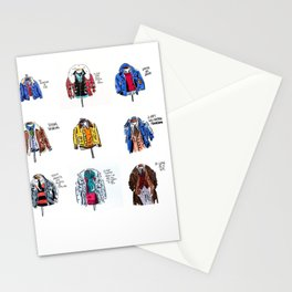 Jackets Stationery Cards