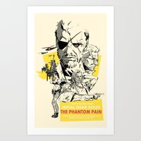 The Phantom Pain Art Print