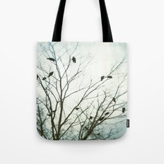 A Blue Gray Day Tote Bag