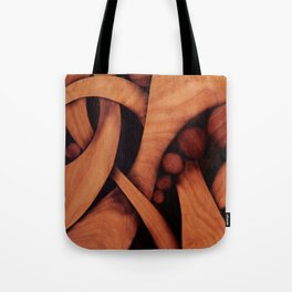 Abstract fantasy marquetry art picture Tote Bag