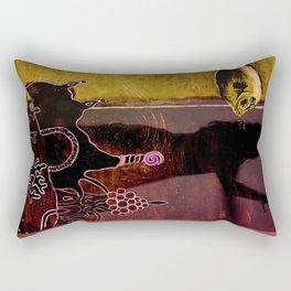 ATLANTIS DANCE Rectangular Pillow