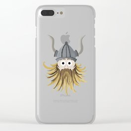 Harold the Viking Clear iPhone Case