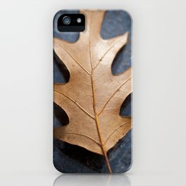 One on black iPhone Case