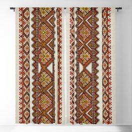 Ukrainian embroidery Blackout Curtain