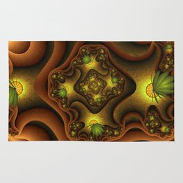 Abstract Insects, Fantasy Fractal Rug