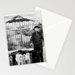Man and Mountain Stationery Cards