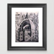 Cities Upon Cities Framed Art Print
