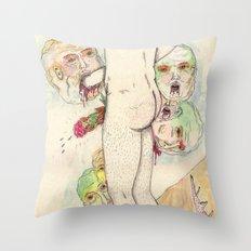 AUTOEXCLUSIÓN Throw Pillow