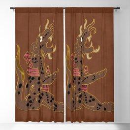 The Leopard Men Blackout Curtain
