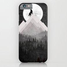 Retro Wolf Slim Case iPhone 6s