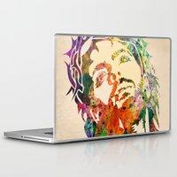 jesus Laptop & iPad Skins featuring JESUS  by mark ashkenazi