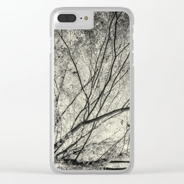Incandescence bw ambro Clear iPhone Case