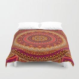 Hippie mandala 33 Duvet Cover