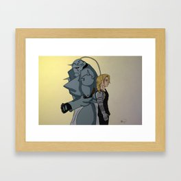 Beaming Sunlight Framed Art Print