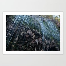Mountain Drip Art Print