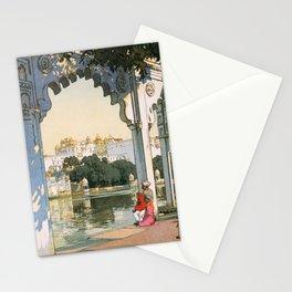 Yoshida Hiroshi - Castles In Udaipur - Digital Remastered Edition Stationery Cards