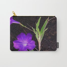 Mexican Petunias Carry-All Pouch