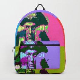 Aleister Crowley Pop Art Backpack