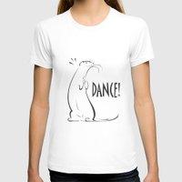 ferret T-shirts featuring Ferret Dance by Bob Illustration