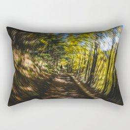 Spinning Around the Nature Rectangular Pillow