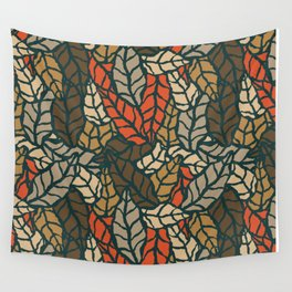 Nature leaves 004 Wall Tapestry