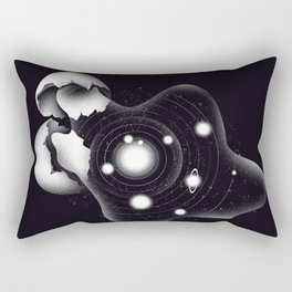 Cosmic Egg Shell Rectangular Pillow