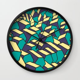 House pattern Wall Clock