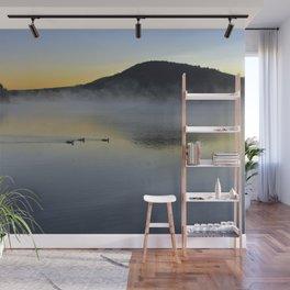 Serene Morning on Lake George Wall Mural