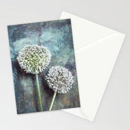 Allium Flowers Stationery Cards