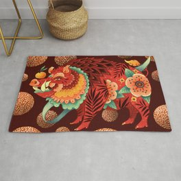 The Year of the Pig 2019 Rug