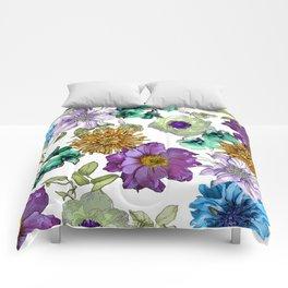 Botanical Haze Comforters