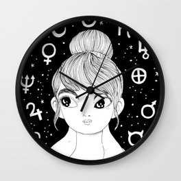 magic maiden II Wall Clock