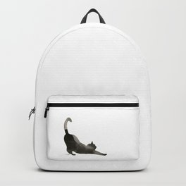 I Love Cats No.1 by Kathy Morton Stanion Backpack