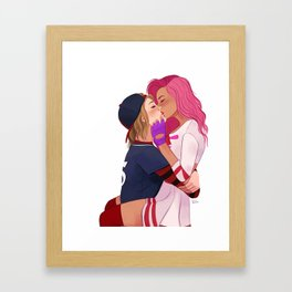 Kichiro x Allison Framed Art Print