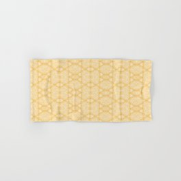Imperfection: Three (Golden Triangles) Hand & Bath Towel