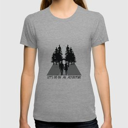 Let's go on an adventure into the woods T-shirt