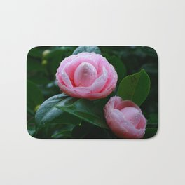 Camellias Bath Mat