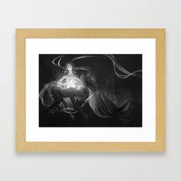 Asrai and Lyra Framed Art Print