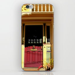 Stage Door - 1889 - No Soliciting iPhone Skin