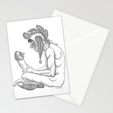 The Defamation of Normal Rockwell I (NSFW) Stationery Cards