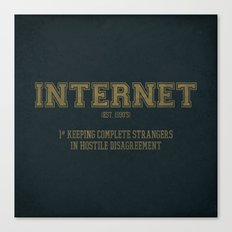 Internet est. 1990's Canvas Print