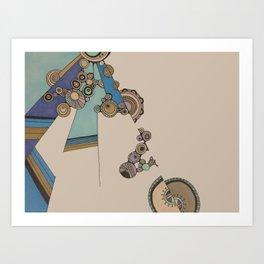 circles V Art Print