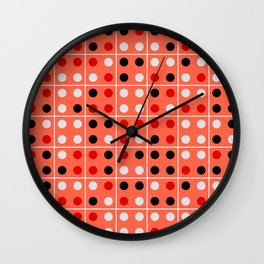 Dominoes Wall Clock