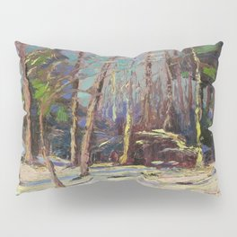 Tom Thomson Larry Dickson's Shack 1914 Canadian Landscape Artist Pillow Sham