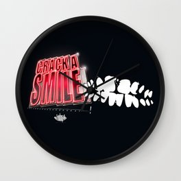 Crack A Smile Wall Clock