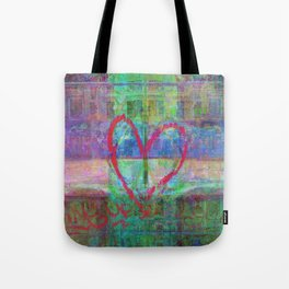 For when the segmentation resounds, abundantly. 14 Tote Bag