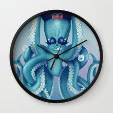 Octopus Dilemma Wall Clock
