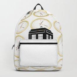 Tardis on the word Backpack
