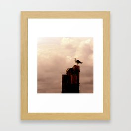 A Place By the Sea Framed Art Print